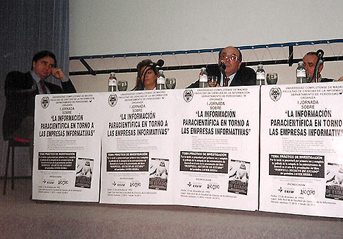 Presentación Roswell Secreto de Estado en 1995