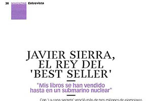 Javier Sirera el Rey del Best Seller