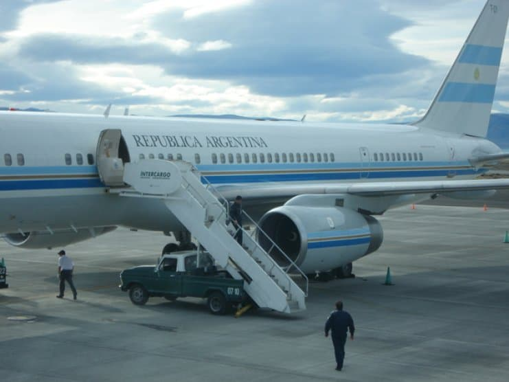 Avion Presidencial Argentino
