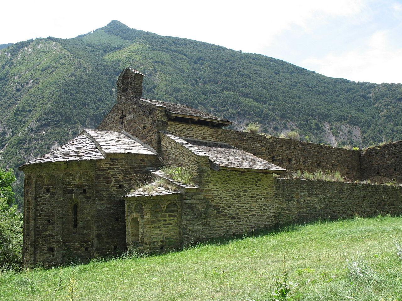 Monasterio abandonado de San Pedro del Burgal (Lérida)