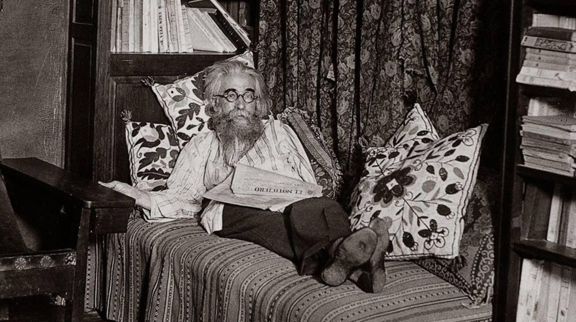 Retrato del escritor Valle-Inclán.