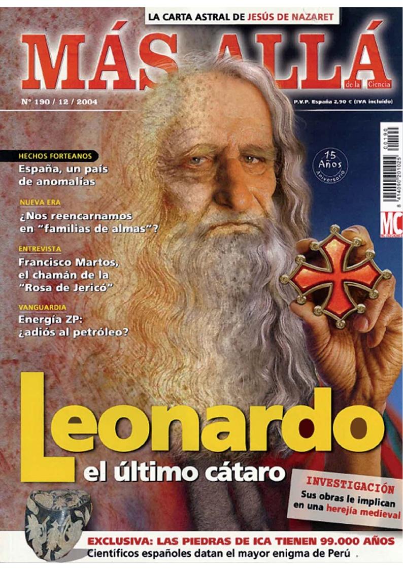 20041200 MÁS ALLÁ Leonardo el último Cátaro
