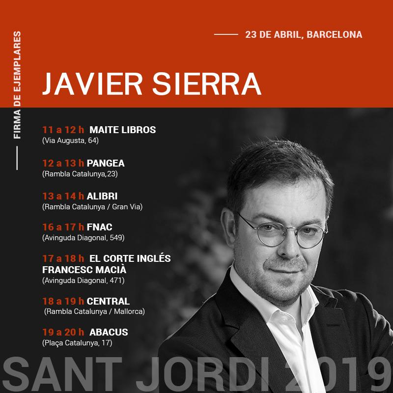 Javier Sierra - Sant Jordi 2019