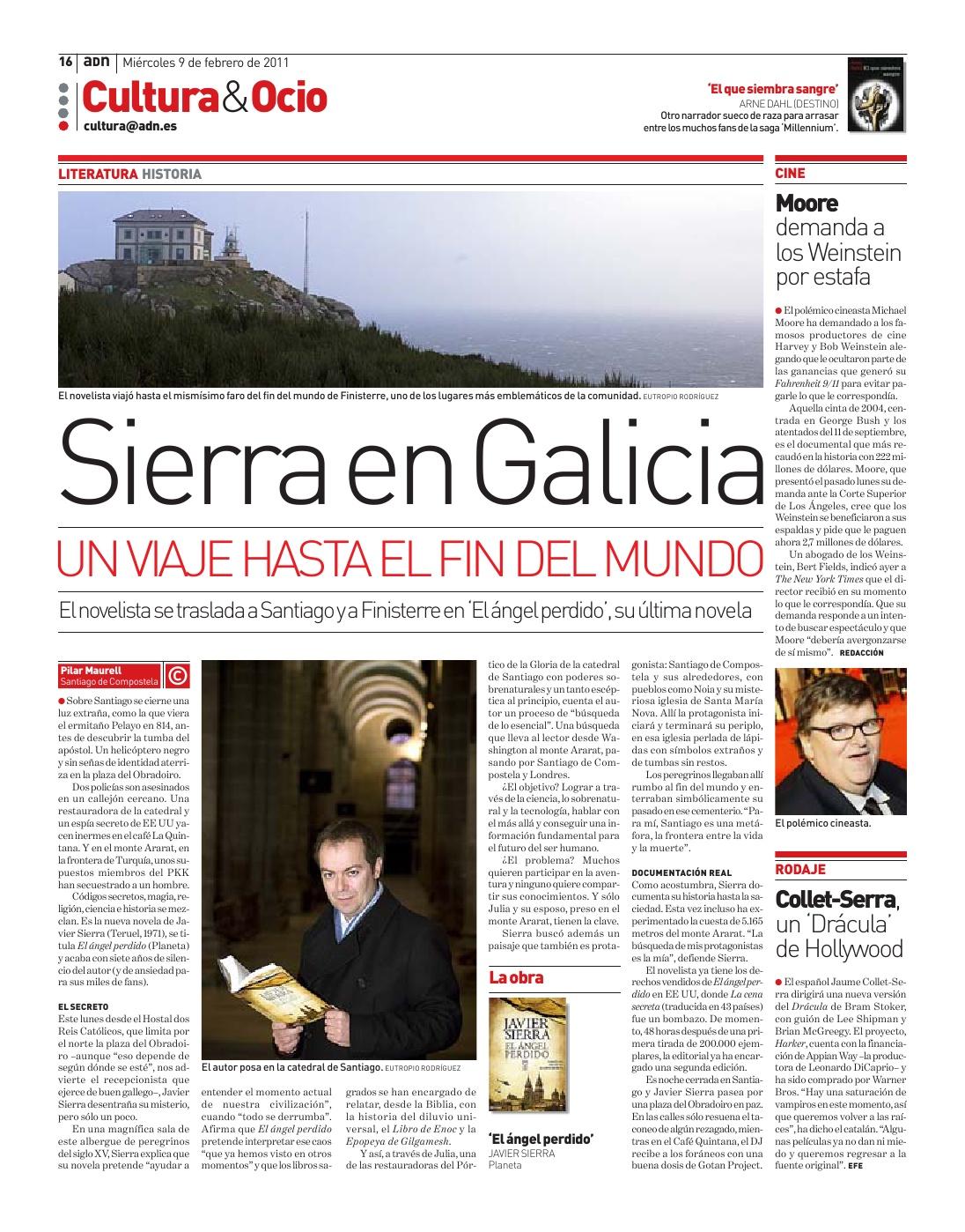 20110209 ADN MADRID Sierra en Galicia