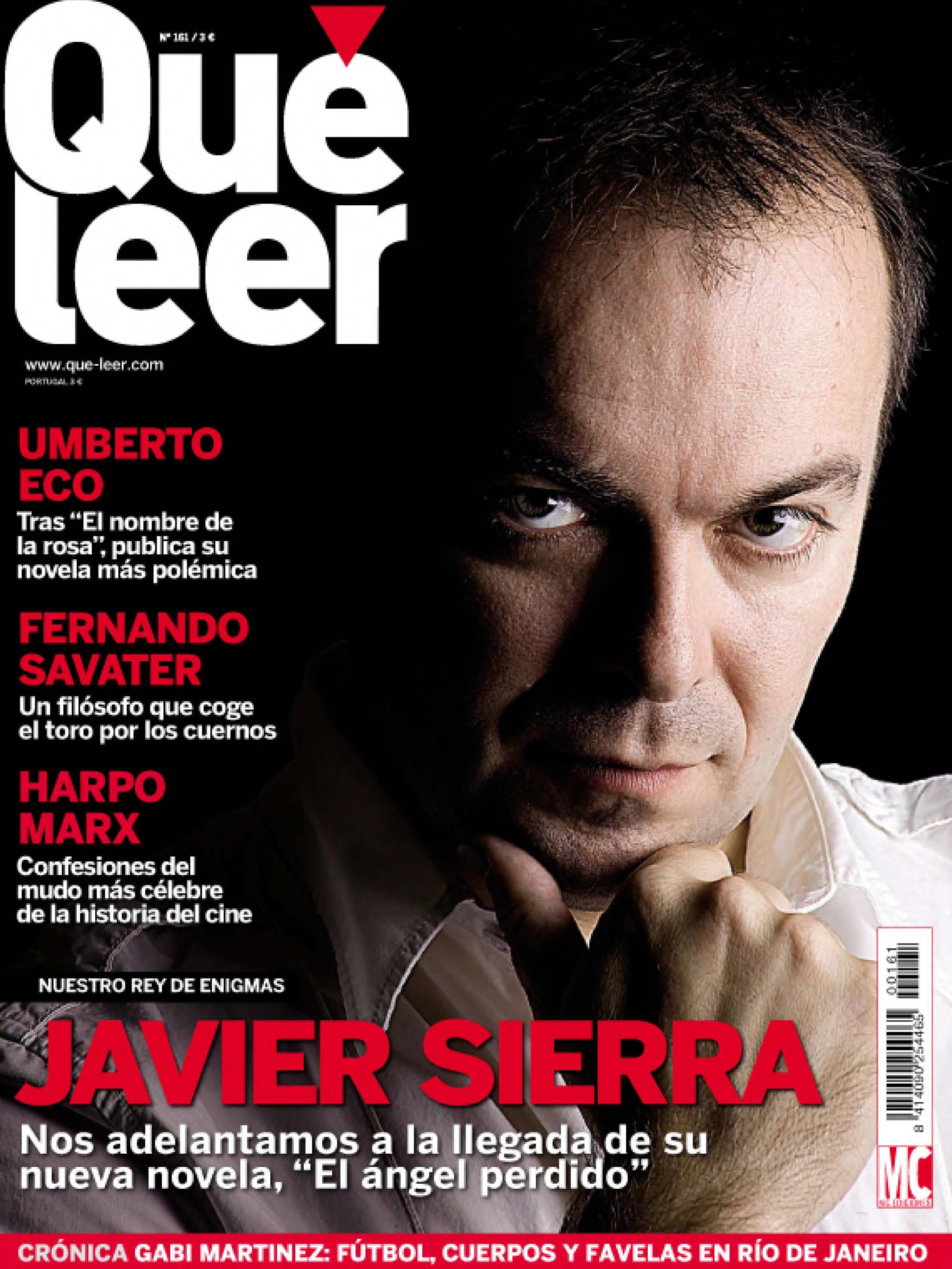 20110400 QUÉ LEER Javier Sierra
