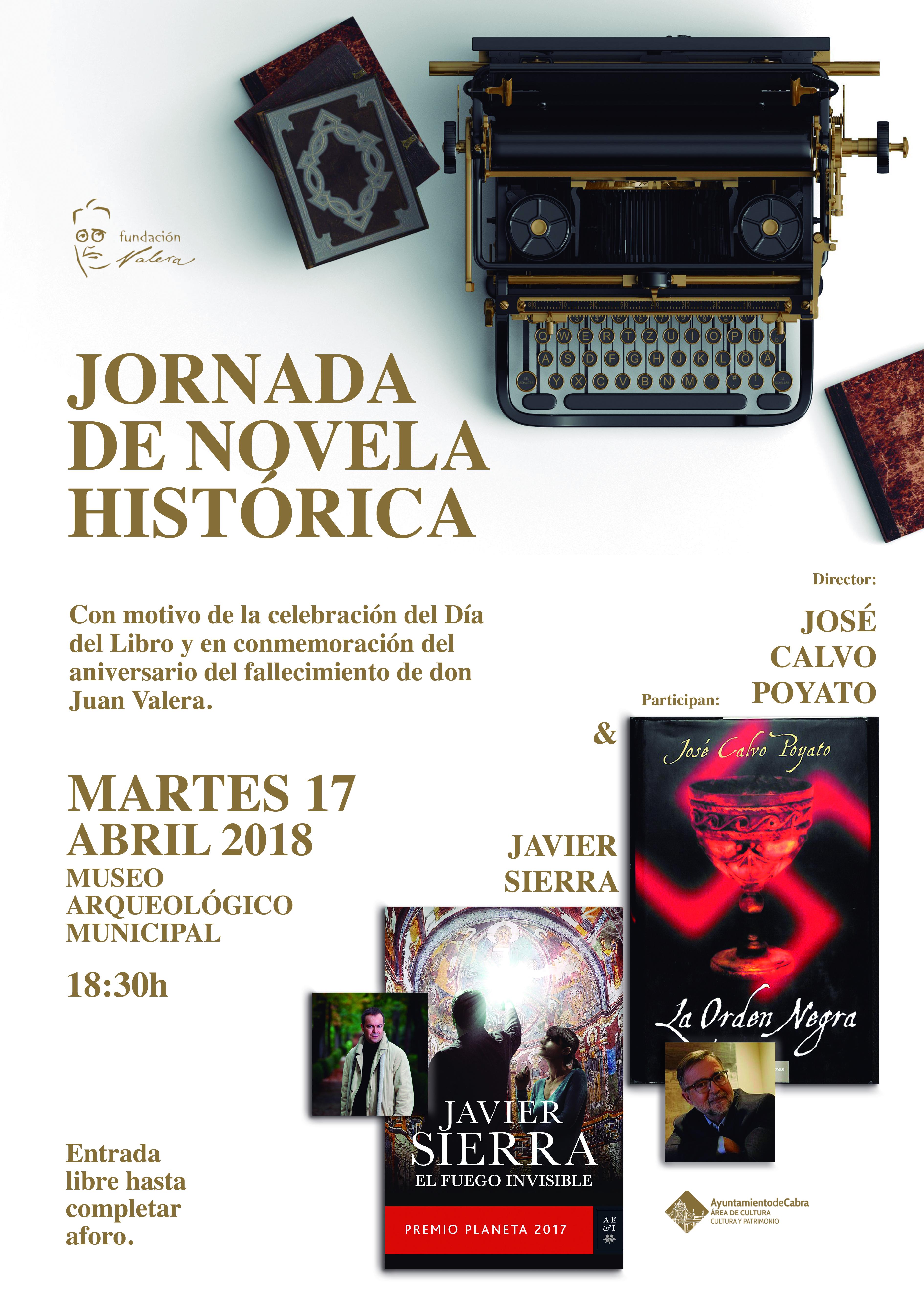 Jornada Javier Sierra en CABRA