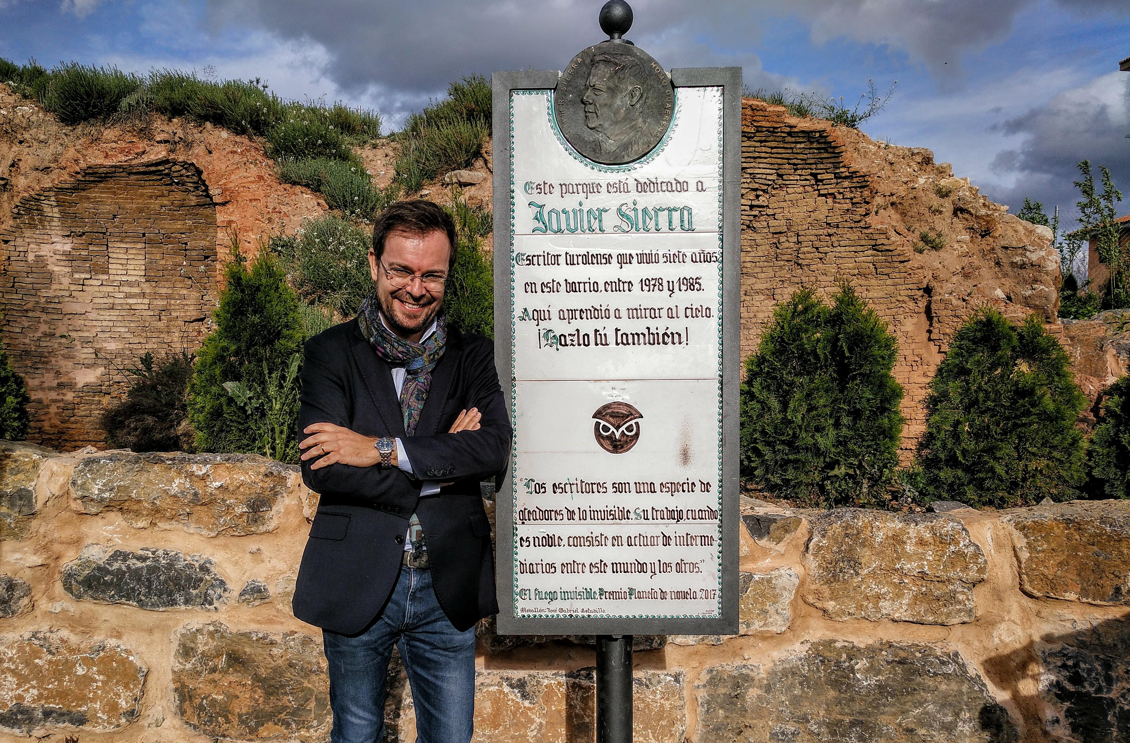 Javier Sierra en Parque Javier Sierra Teruel