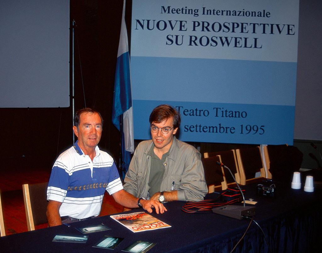 Jesse Marcel Jr y Javier Sierra