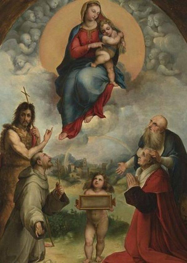 Pintura de Rafael Sanzio