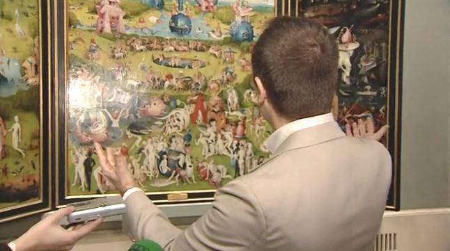 ANTENA3 - Javier Sierra analiza el cuadro El Jardín de las Delicias