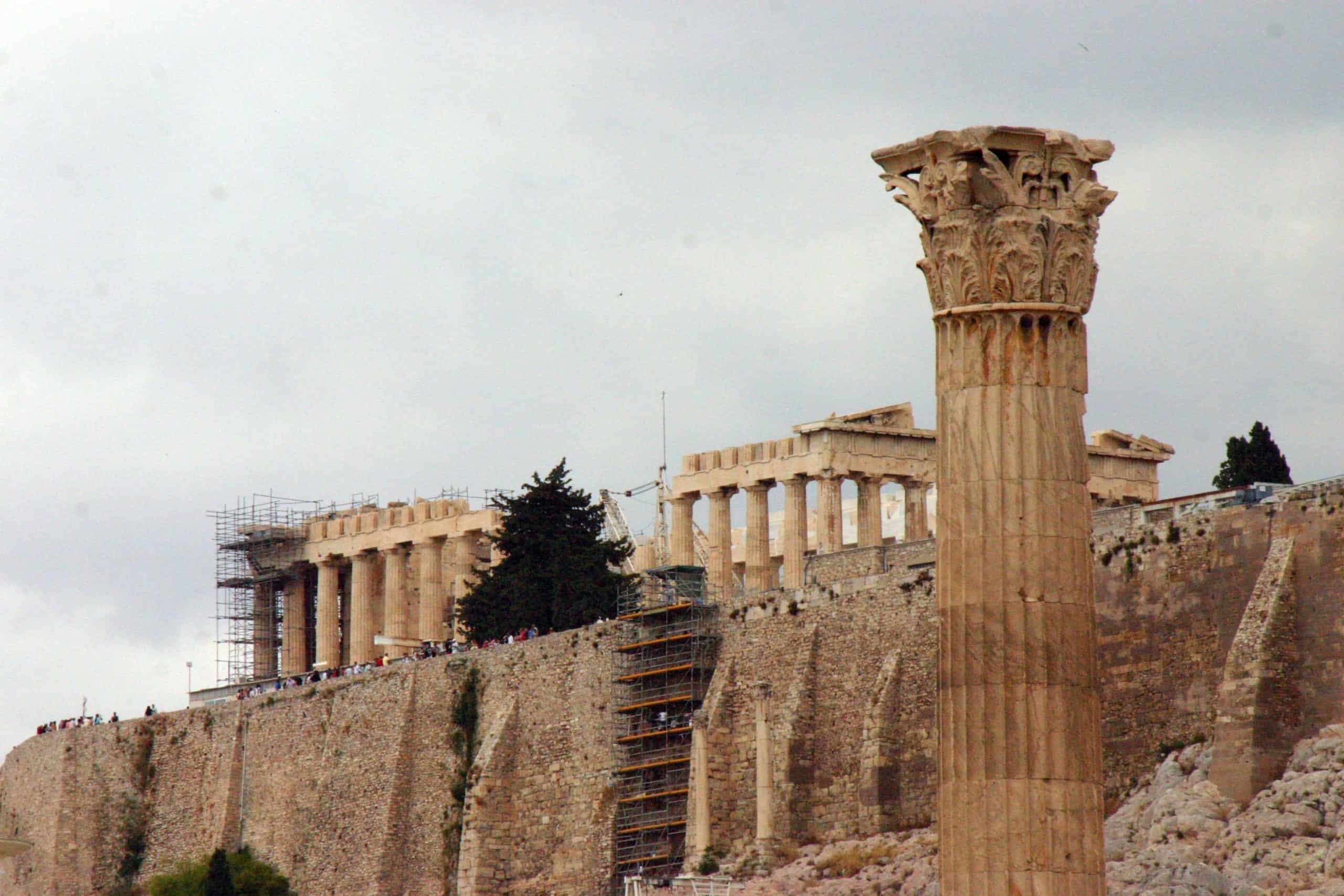 El Mensaje de Pandora - La acrópolis de Atenas
