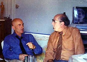 Aimé Michel y Antonio Ribera