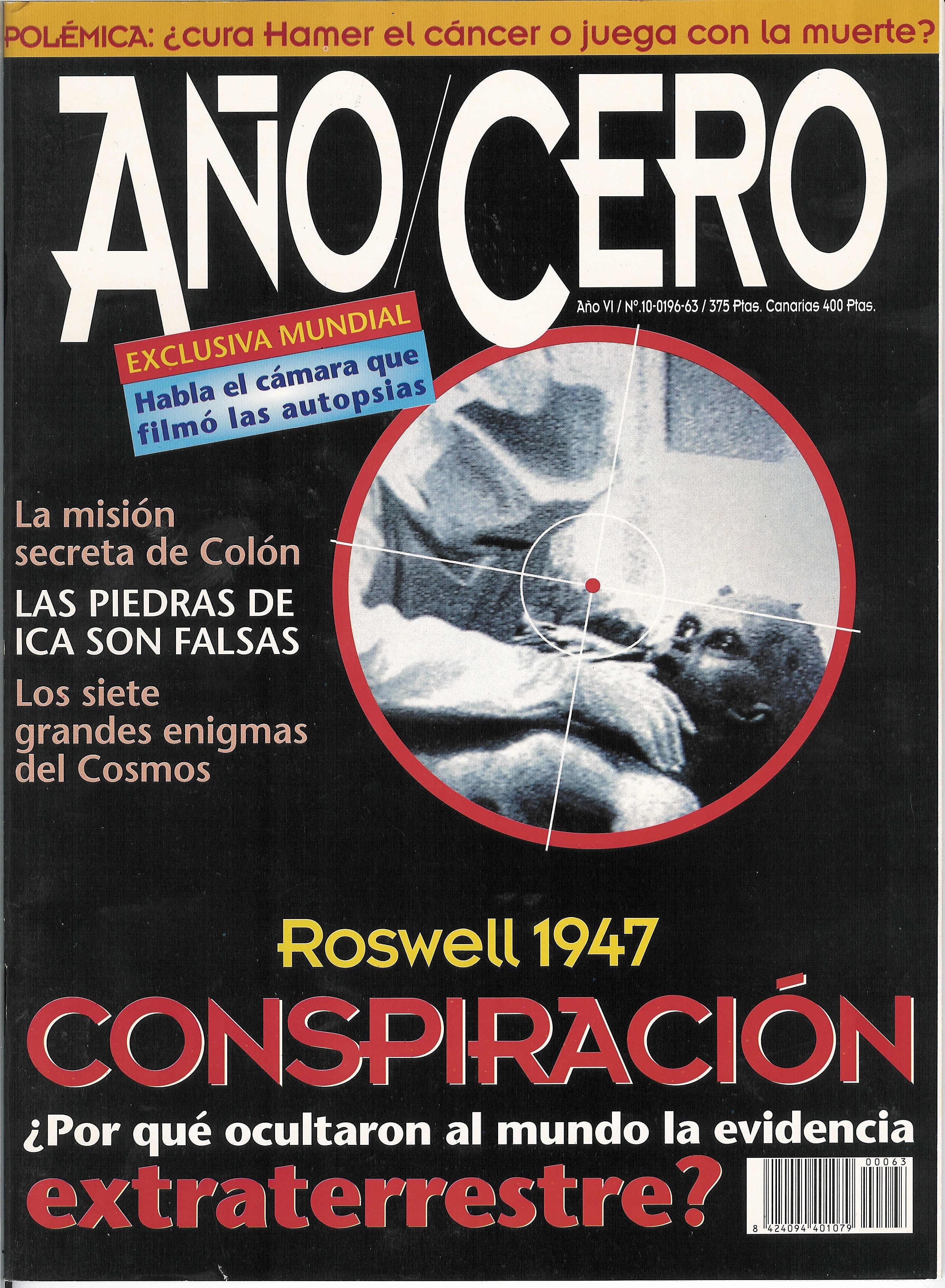 Año Cero, Octubre 1995