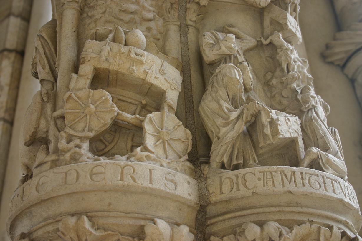 Arca de la Alianza en Chartres