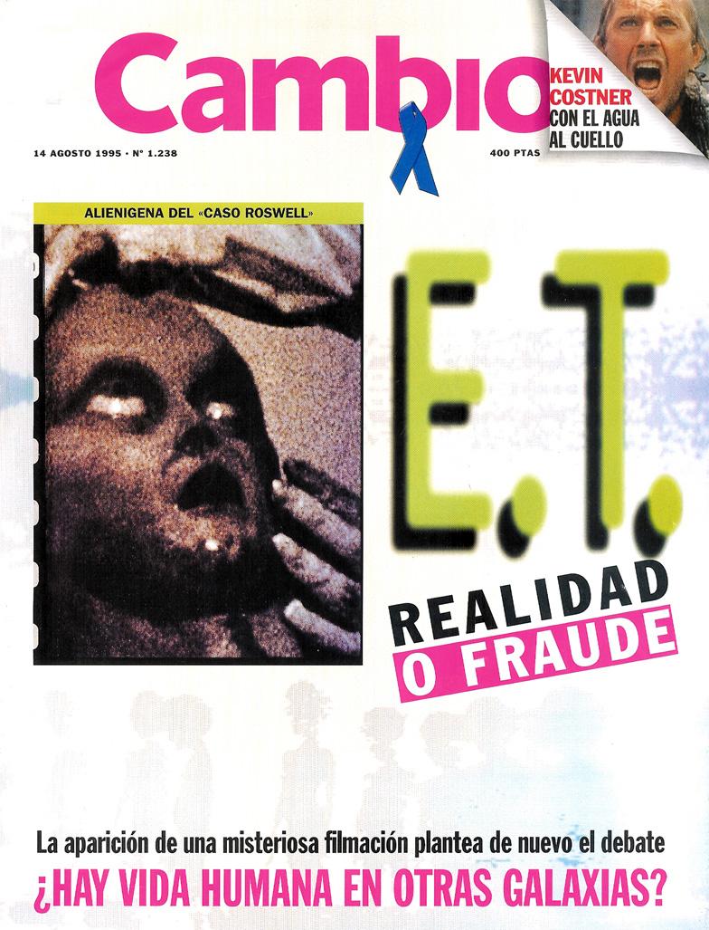 Cambio 16, Agosto 1995 - Roswell