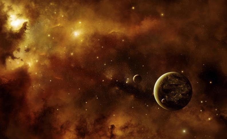 Representación de planetas