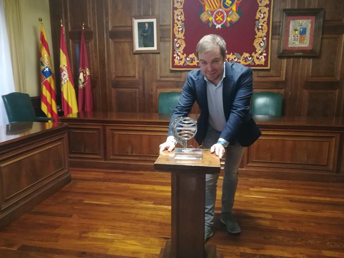 Javier Sierra y el Premio Planeta en Teruel