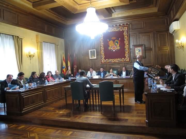 Pleno Ayuntamiento de Teruel
