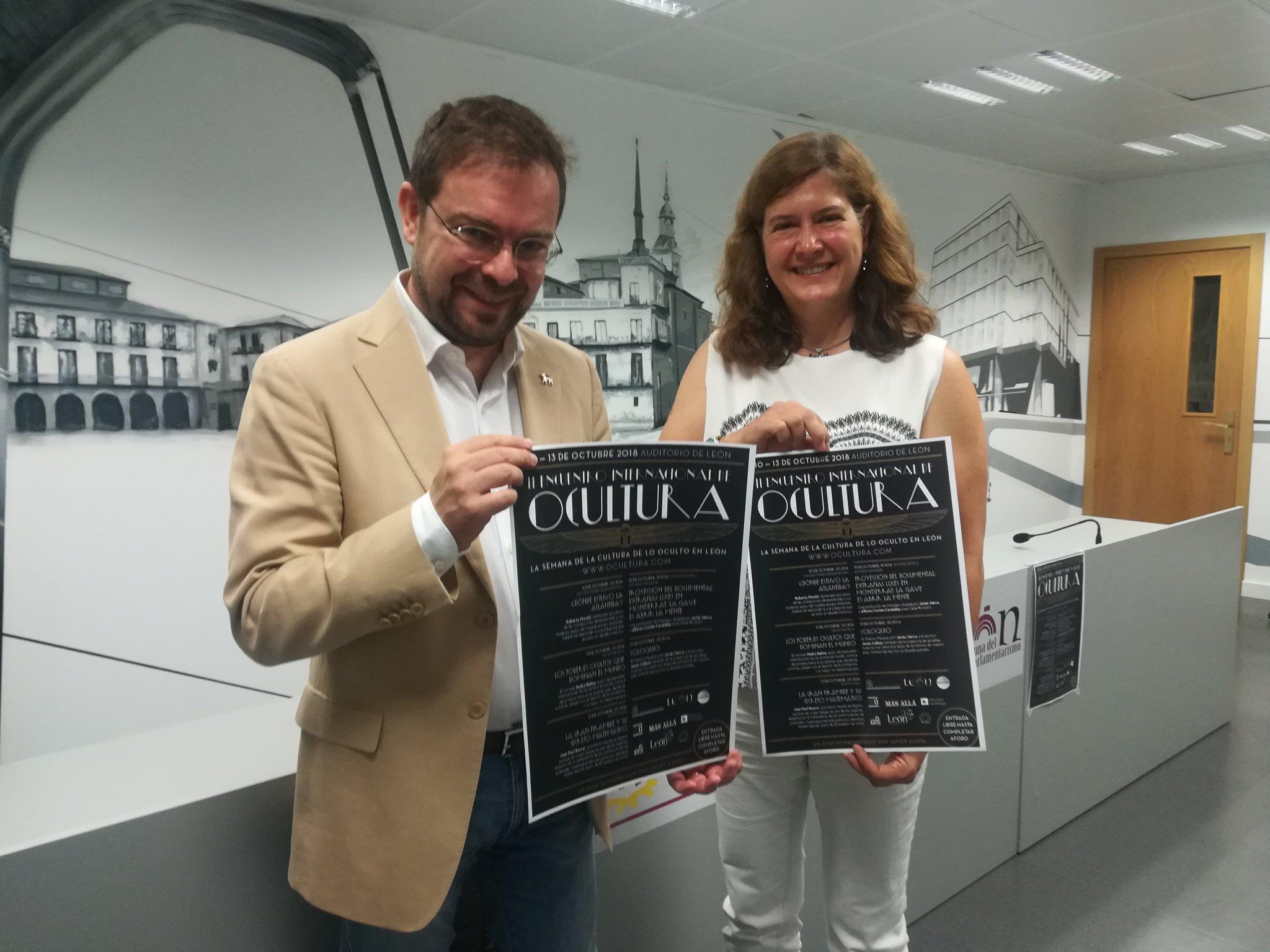 Presentacioón en León del II Encuentro Internacional de #Ocultura