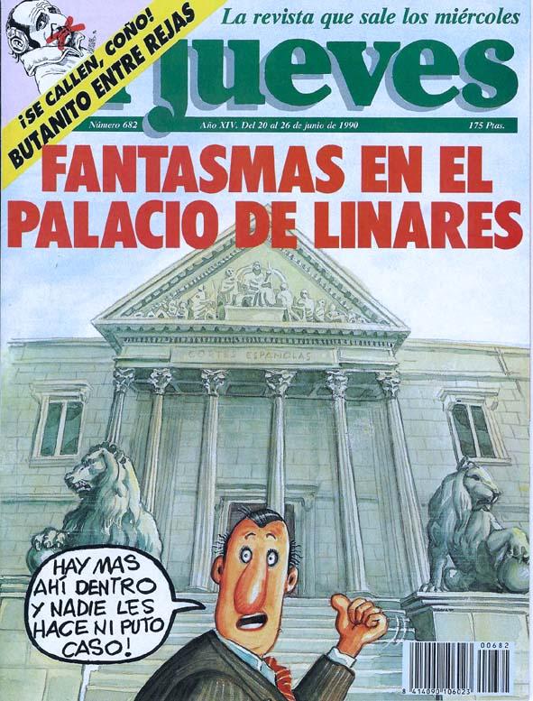 El Jueves, Palacio de Linares