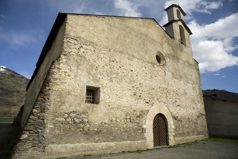 Monasterio de Santa María de Aneu (Lérida)