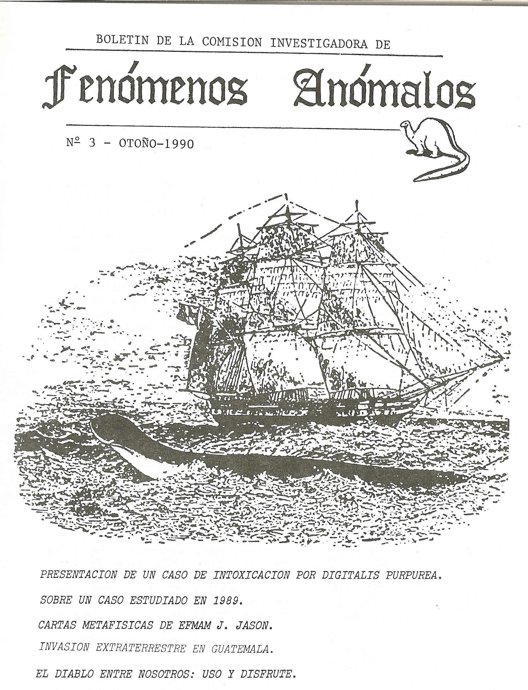 Comisión de Fenómenos Anómalos nº 3