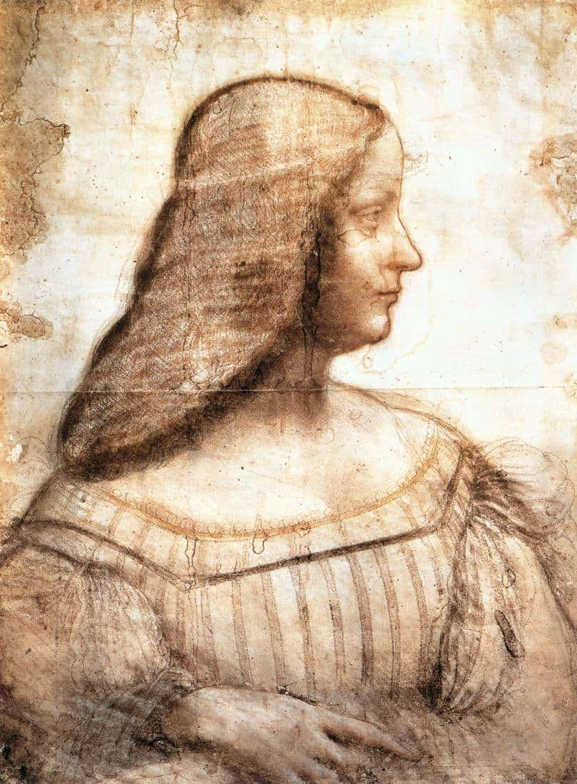 Isabella d'este boceto
