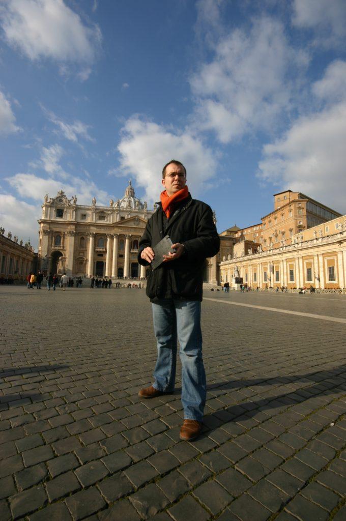Javier Sierra en Roma
