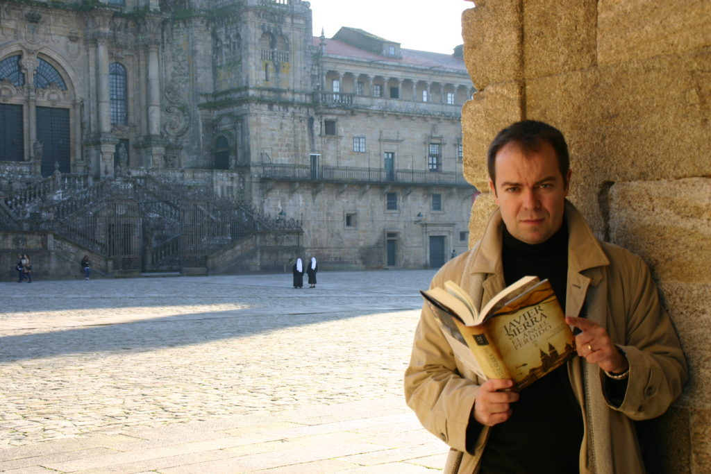 Javier Sierra en Santiago de Compostela