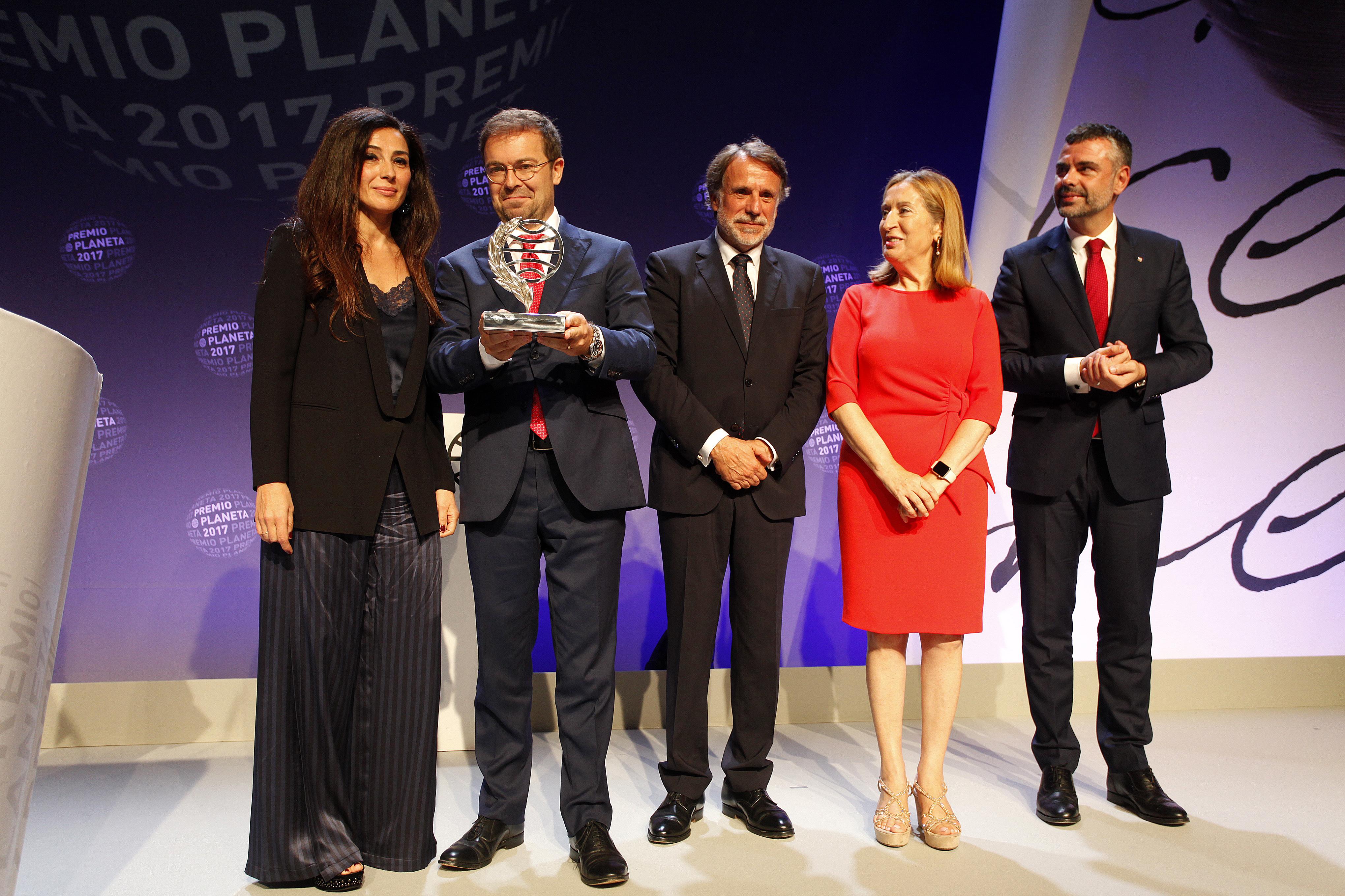 Javier Sierra Premio Planeta 2017
