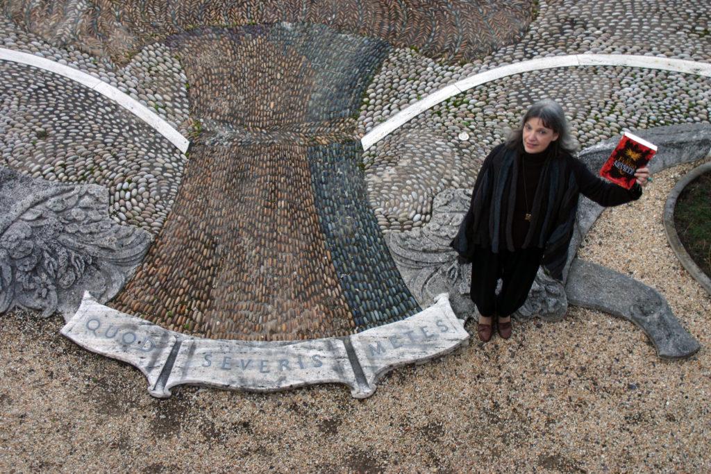 Katherine Neville en Dumbarton Oaks