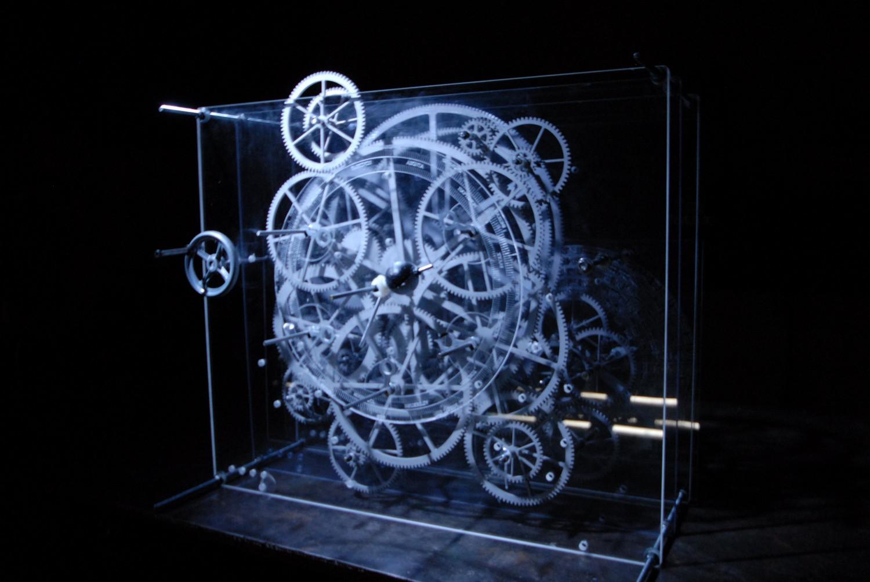 Representación de la máquina de Antikythera