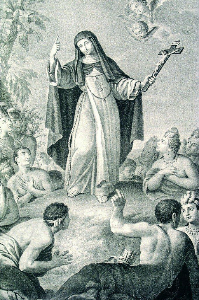 Sor María Jesús de Ágreda entre los nativos americanos