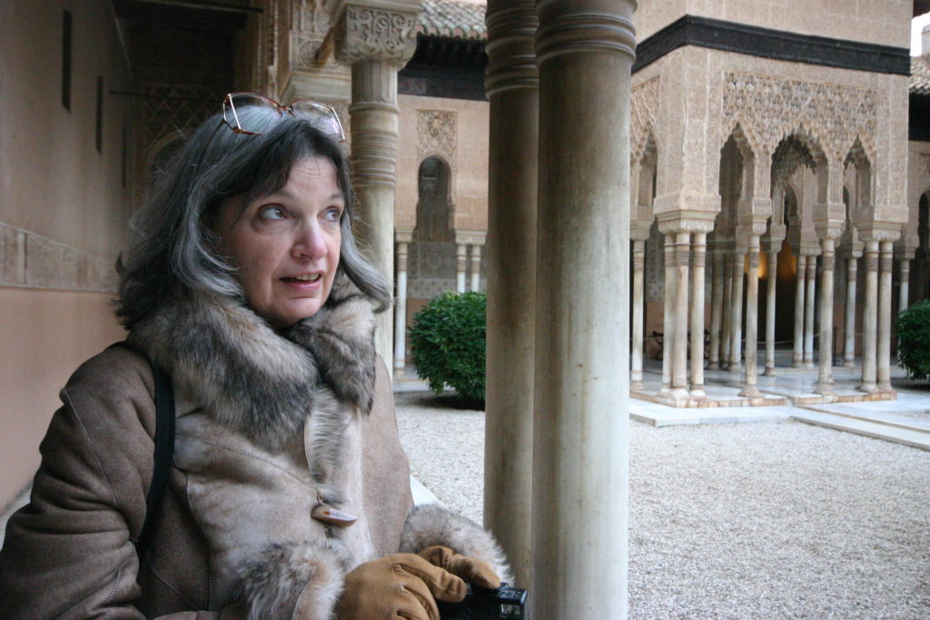 Katherine Neville en Granada
