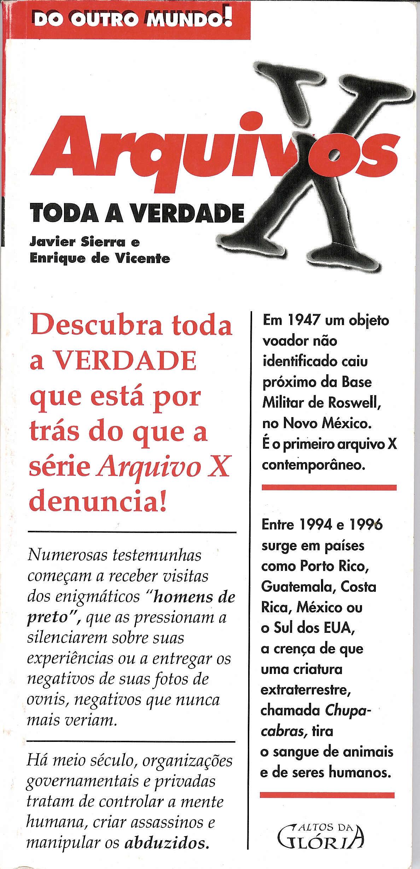 Qué se oculta tras los Expedientes X - Brasil