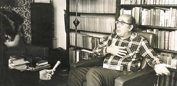 Ribera y Benítez, primera entrevista 1975