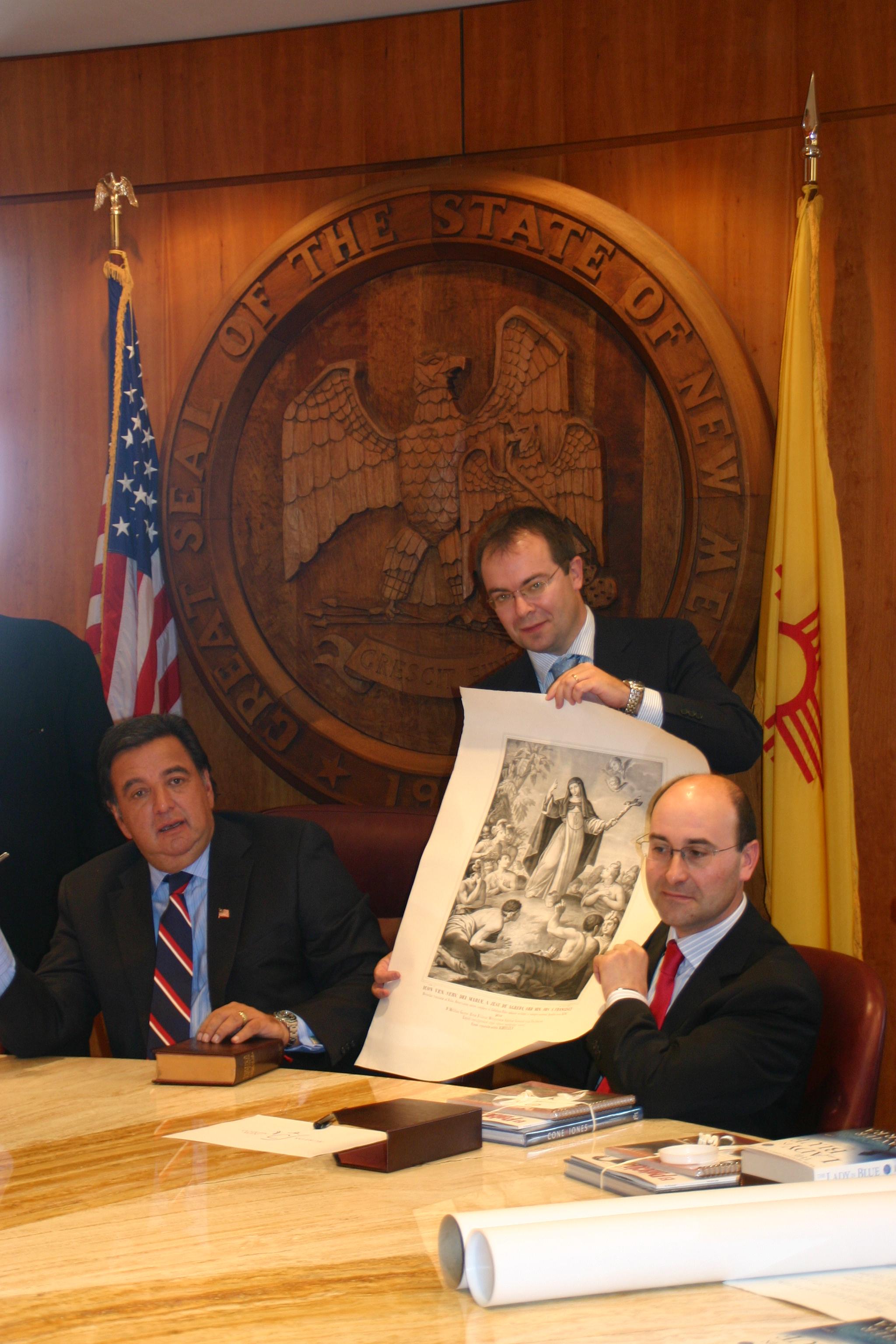 Richardson, Sierra y Alonso en HERMANAMIENTO ÁGREDA y NUEVO MÉXICO