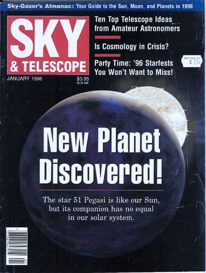 SKY TELESCOPE, New Planet Discovered