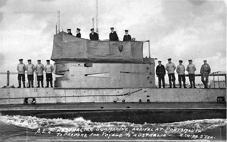 Submarino AE2 (1914) H.G. Stoker