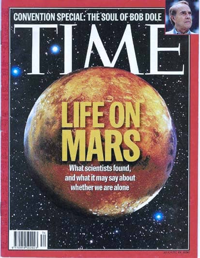 TIME, Life on Mars
