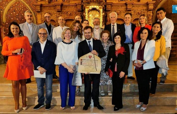 Nombramiento de Javier Sierra como Hijo Predilecto de Teruel