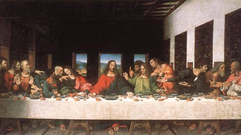 Copia de La Última Cena de Leonardo Da Vinci