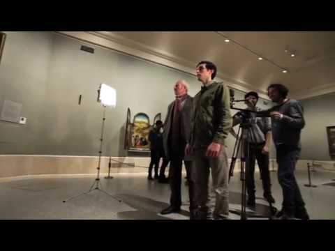 El Maestro del Prado - Booktrailer (Making Of)
