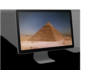 Napoleón en la Gran Pirámide