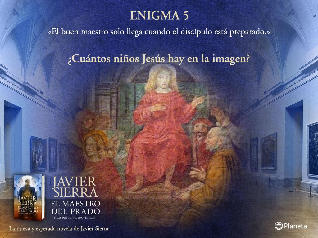 El Maestro del Prado - Enigma 5