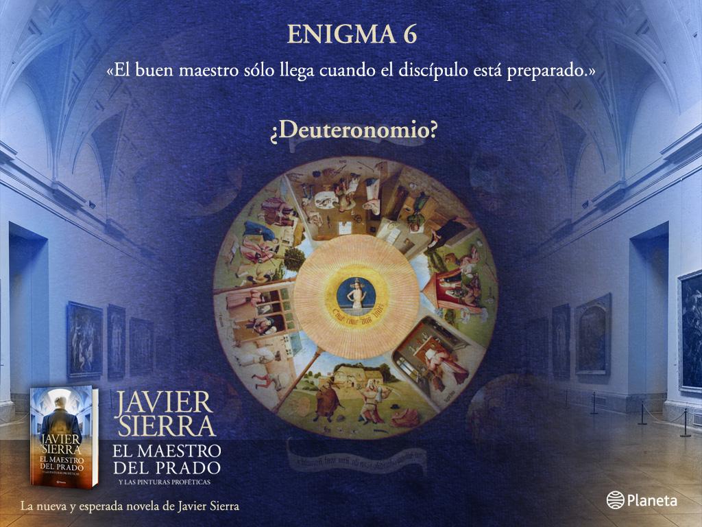 El Maestro del Prado - Enigma 6