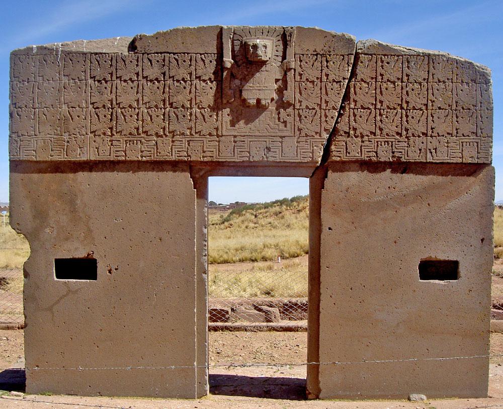 Puertas del Sol Tiahuanaco